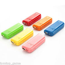 USB Emergency Battery Charger Flashlight AA batteries for Cell phone iPhone iPod