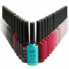 BLUESKY NAIL POLISH NEW COLOUR 'A' RANGE UV/LED SOAK OFF GEL POLISH 10ML BOTTLES