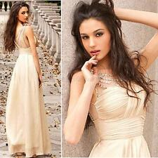 Formal Long Strapless Women's Prom Evening Party Bridesmaid Wedding Maxi Dresses