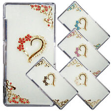 3D LUXURY BLING CRYSTAL DIAMOND CASE COVER FOR MOBILE PHONES + SCREEN PROTECTOR