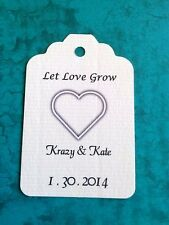 Personalized gift tags for weddings, baby showers, favors