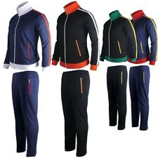 Mens Womens Running jogging Track Suit warm up pants jackets gym training wear K