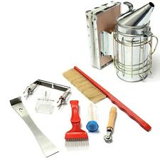 Beekeeping Beekeeper Equipment Starter Kit Beehive Supplies Tool Set Bee Smoker