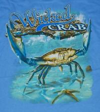 Wicked Crab T shirt Print Both Sides