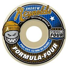 SPITFIRE FORMULA FOUR REYNOLDS SKATEBOARD WHEELS SKATE SIZES 51 MM 53 MM FAST
