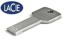 Metal Key LaCie Waterproof USB Flash Drive, Real Capacity 8GB/16GB/32GB/64GB
