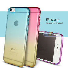 Gradient Gel Rubber Soft Silicone Ultra Thin Case Cover For Apple iPhone 6 6plus