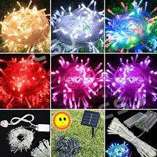 Electric/Solar/Battery Power Operated Outdoor Fairy Lights String 20-400LED Bulb