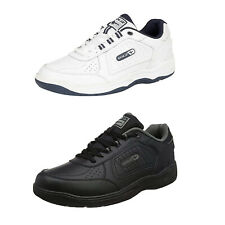 Mens Trainers Gola Belmont New Lace Up Wide EE Fit Leather Sports Sneaker Shoes