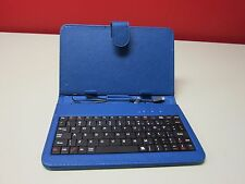 "7"" Tablet Folio Keyboards Assorted Colors"