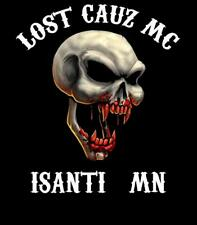 LOST CAUZ LLC BLACK SHORT SLEEVE T-SHIRT IN SIZE XS/3XL GET YOURS TODAY