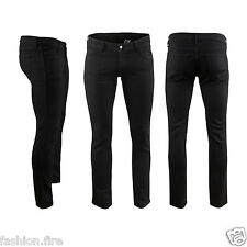 Mens Boys Designers Branded Denim Skinny Slim Fit Denim Mens Jeans Trouser Chino