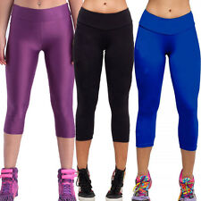 Women Sport Yoga Cropped Stretch Casual Athletic Gym Pants Trousers