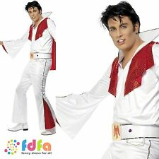 "50s ROCK N ROLL KING ELVIS PRESLEY - 38""-44"" chest - mens fancy dress costume"