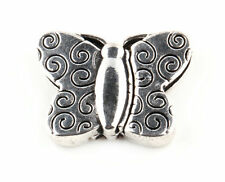1/2/5/10 Pcs plated Butterfly Tibetan Silver Findings Strong Magnetic Clasps