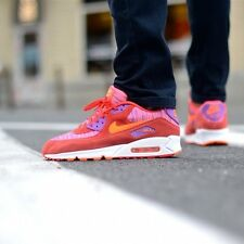"""NIKE AIR MAX 90 ESSENTIAL MENS SHOES/SNEAKERS """"Sunset Pack"""" 537384-600 Trainers"""