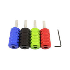 3pcs/lot Assorted Size Aluminum Alloy Tattoo Grips Tubes for Tattoo Machine Gun