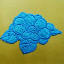 Flower Floral Iron on Sew Patch Embroidered Badge Applique Plant Nature Cute Lot