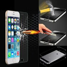100% Genuine Tempered Glass Film Screen Protector for Apple iPhone Samsung Glaxy
