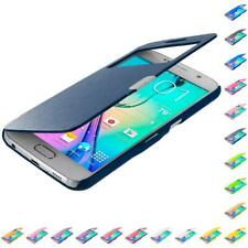 For Samsung Galaxy S6 Wallet Flip Magnetic Closing Case Cover Accessory