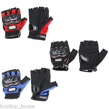 Men Bicycle Riding Racing Cycling Bike Bicycle Motorcycle Half Finger Gloves