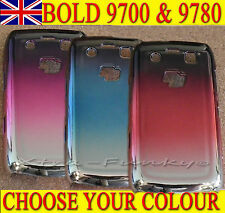 CHROME MIRROR SHINY METALLIC EFFECT CASE COVER For Blackberry Bold 9700 & 9780