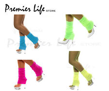 Smiffy's Adult Leg Warmers - One Size Neon Colour Legwarmers