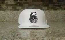 NEW Last Kings LK TYGA cap WHITE Hat BLACK Pharaoh Snapback 100% Authentic PU