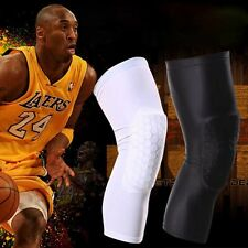 Crashproof Antislip Basketball Leg Knee Long Sleeve Protector Gear Honeycomb Pad