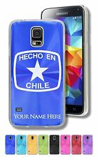 Personalized Case For Galaxy S5, S6, S6 Edge - HECHO EN CHILE, CHILEAN