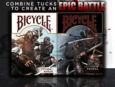 CARTE DA GIOCO BICYCLE FEUDAL NINJA & SAMURAI edition,poker size
