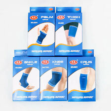 Elastic Muscle Support Stretchy Thigh Palm Crus Knee Ankle Protect Sport A0858