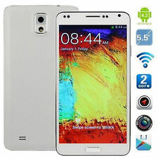 """Note  5.5"""" 3G+GSM GPS Android 2 Sim Unlocked Straight Talk AT&T Smartphone ZHUA"""