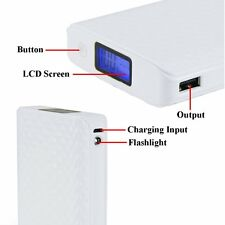 20000MAH Dual USB External Power Bank Backup Battery Charger For Iphone 6 5S HTC