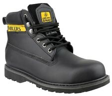 Amblers FS9 Black Safety Work Boots