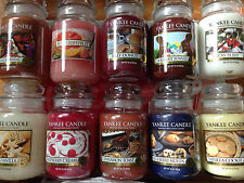 Yankee Candle 22 oz jar candle YOU PICK the SCENT Shipping discounts on more!