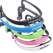 Portable Sport Wireless Headset Headphone Earphone MP3 Player Micro TF FM Radio