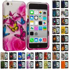 For Apple iPhone 5C Hard Snap-On Design Rubberized Case Cover Skin Accessory