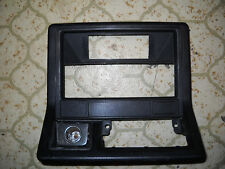 1986 Toyota Pickup Dash Radio Trim Cover Bezel Black