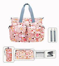 4 PCS/Set  Mummy bag Womens Baby Diaper Nappy Changing Bag shoulers Bags Tote