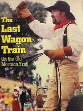 The Last Wagon Train On the Old Mormon Trail VHS Tape Pioneer Expedition Movie