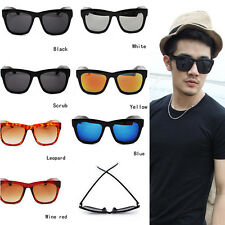Men's Outdoor Wayfarer Glasses Sunglasses Women Fashion Shades Goggle Sunglasses