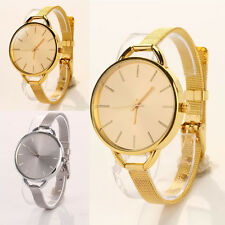 Girls Casual Watches Women Ladies Analog Stainless Quartz Bracelet Wristwatch