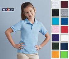 JERZEES Youth Children's  Athletic Sport SpotShield™ Jersey Polo 437Y-New!!