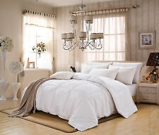 Goose Down Alternative Reversible Down-Proof Fabric Comforter in All Size