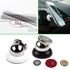 Universal 360° Rotating Car Sticky Magnetic Stand Holder For Phone iPhone GPS