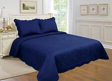 7-All For you 3 pc reversible quilt set, bedspread,coverlet-twin/full/queen/king