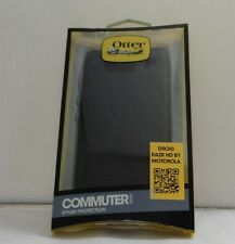 NEW OtterBox Commuter Case Series for Motorola Razr HD Black, Retail Packaging