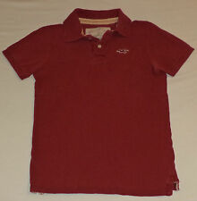 Hollister Short Sleeve Maroon Button Top Collared Polo    Size Small     K#9569