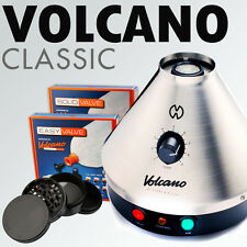 NEW Volcano Classic w/ Easy or Solid Valve + 4 pc. Space Case grinder